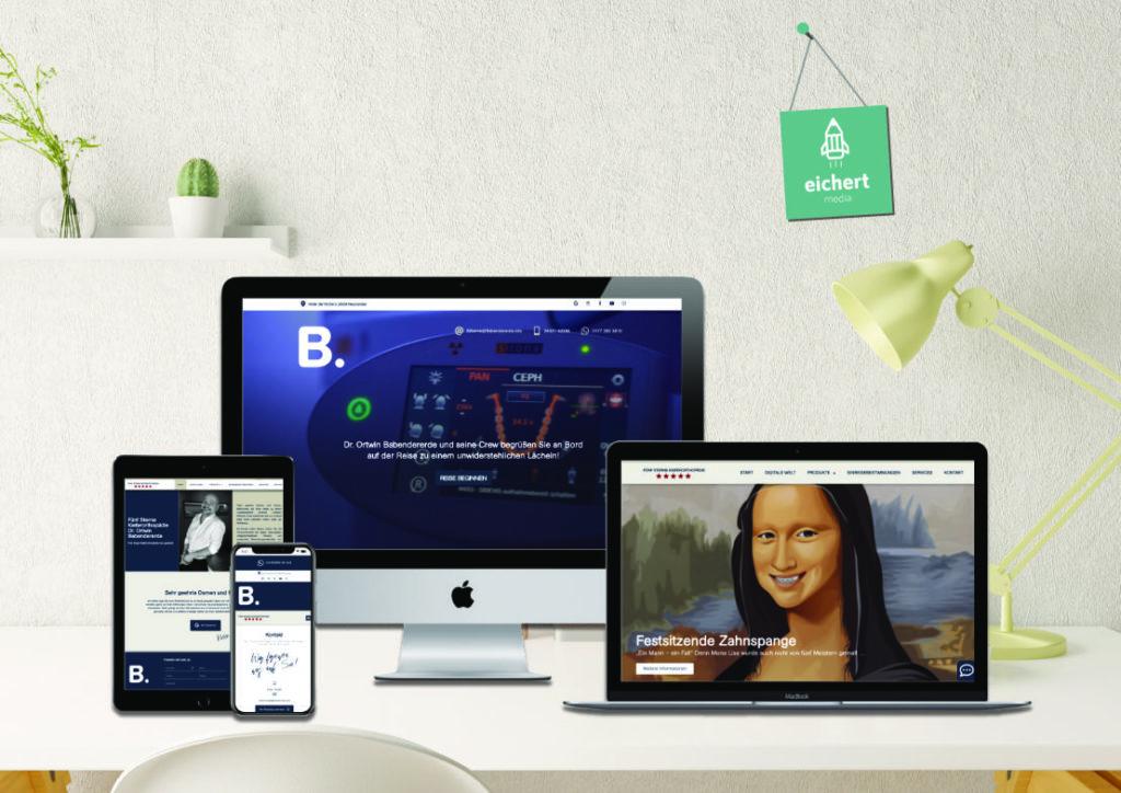 Projekt: Neue Website für Dr. Babendererde aus Neumünster
